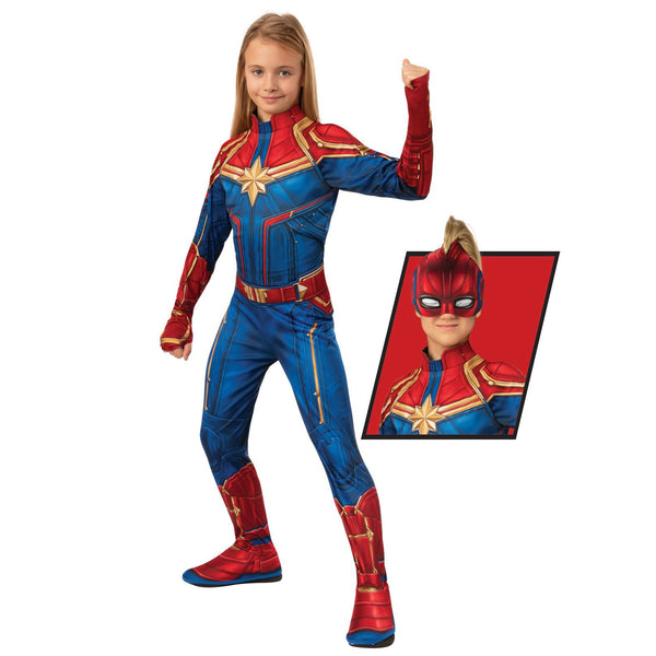 Captain Marvel Classic Hero Suit, Child