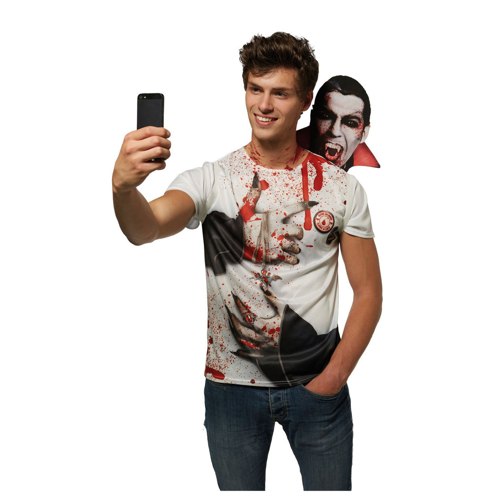 Vampire Selfie Shocker Costume, Adult