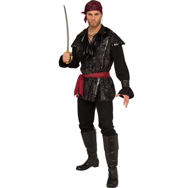 Plundering Pirate Costume, Adult