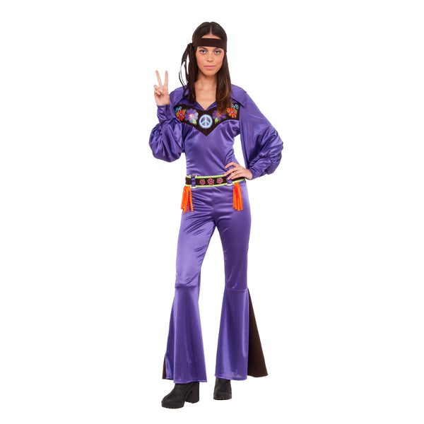 70's Babe Hippie Costume, Adult