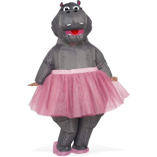 Hippo Inflatable Costume, Adult