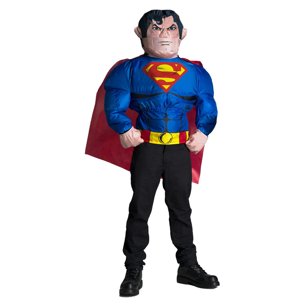 Superman Inflatable Costume Top,  Adult