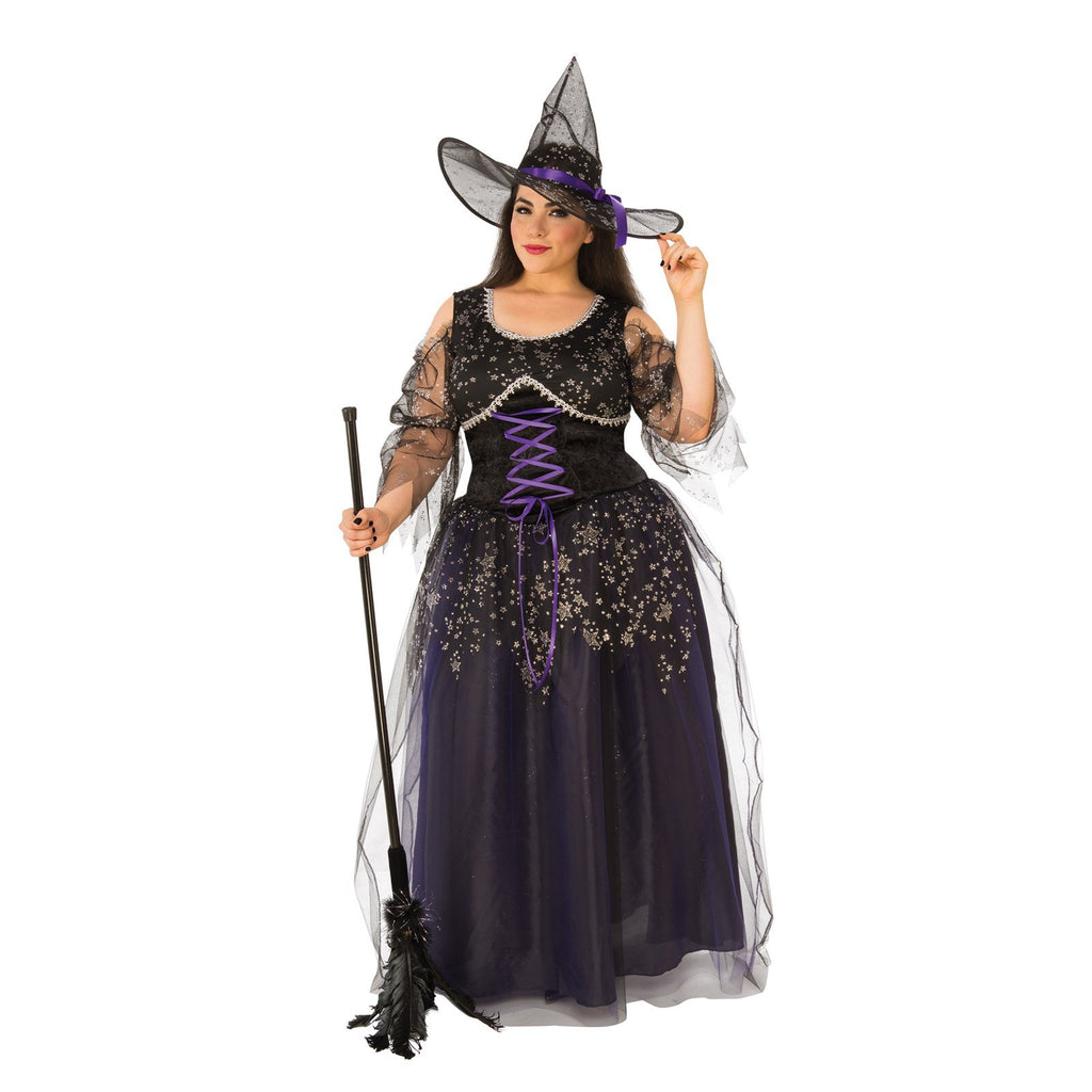 Midnight Witch Costume, Adult
