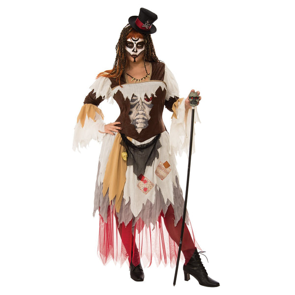 Conjure Voodod Woman Costume, Adult