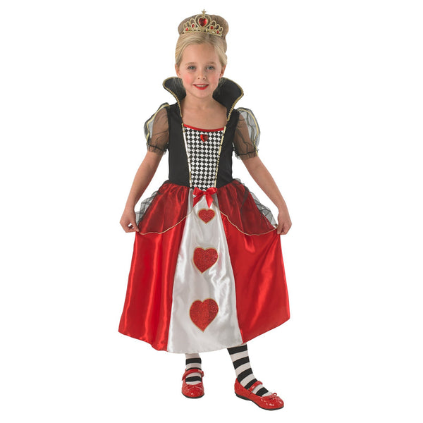 Queen Of Hearts Costume Child