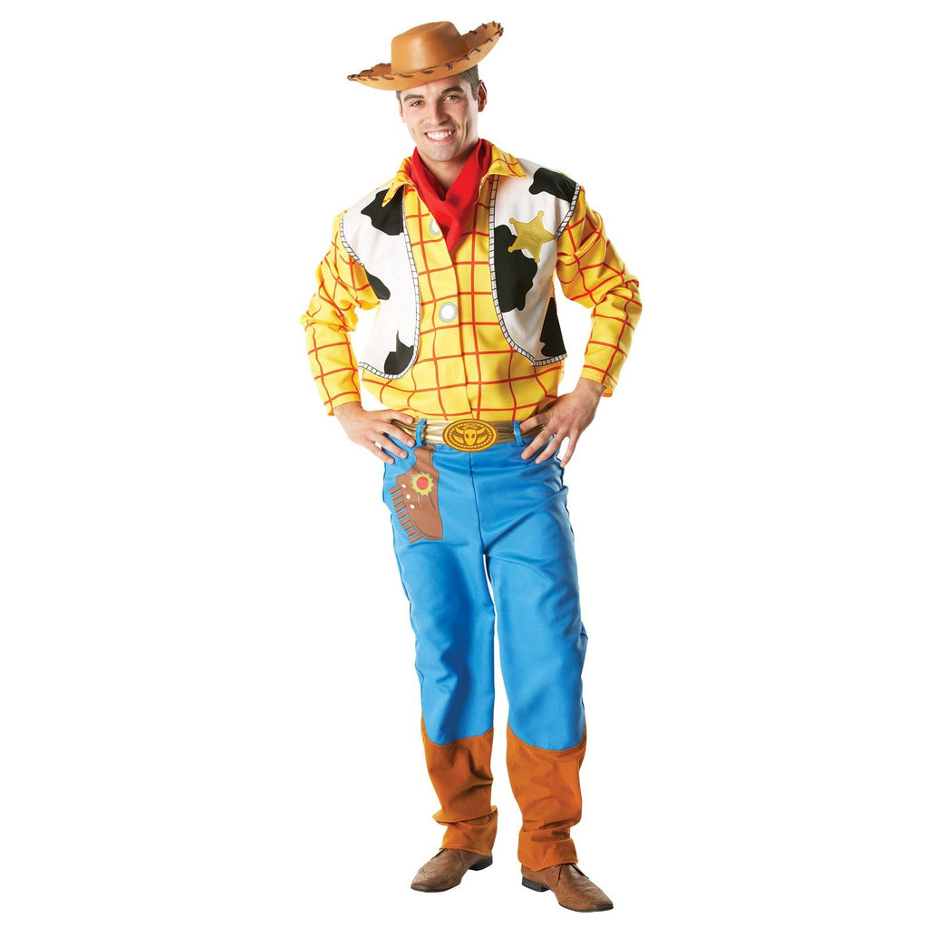 Woody Deluxe Costume, Adult