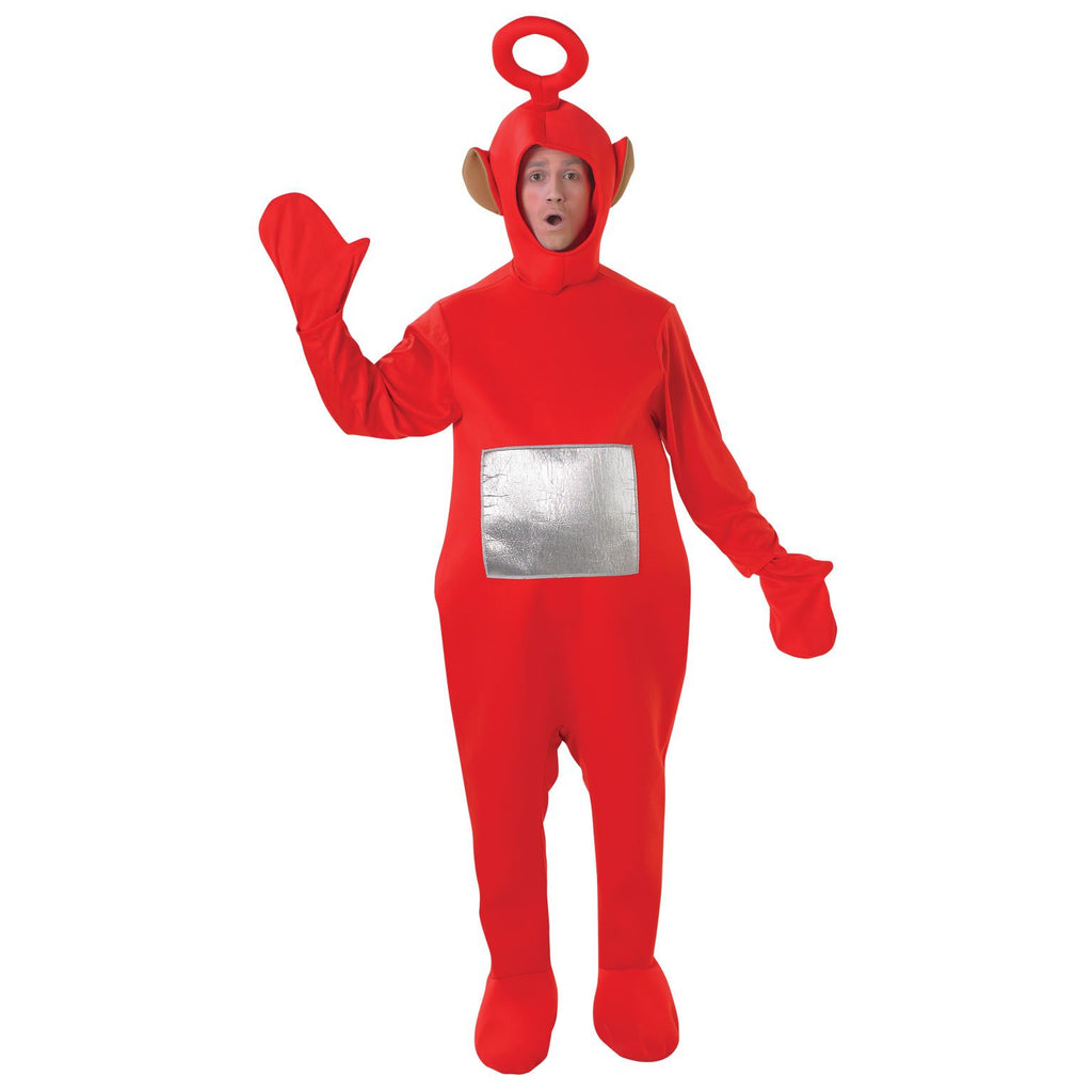 Po Teletubbies Deluxe Costume, Adult