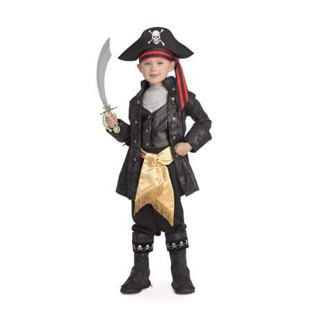 Captain Black Deluxe Costume, Child
