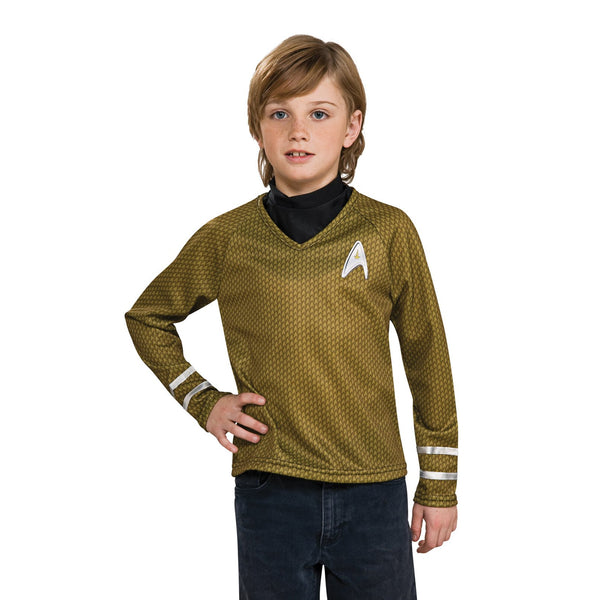 Star Trek Gold Shirt Child