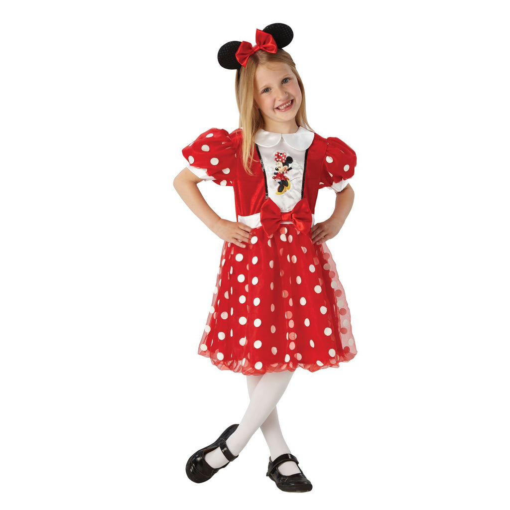 Minnie Mouse Red Glitz