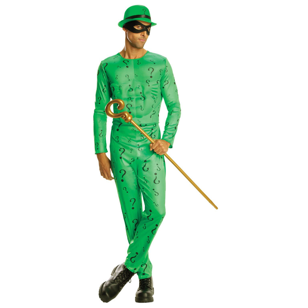 The Riddler Classic Dc Costume, Adult