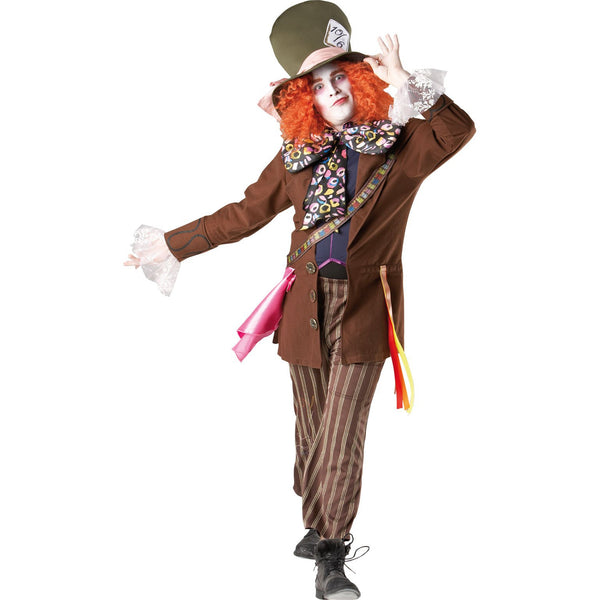 Mad Hatter Deluxe Costume, Adult