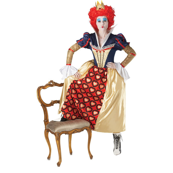 Queen Of Hearts Red Adult Costume