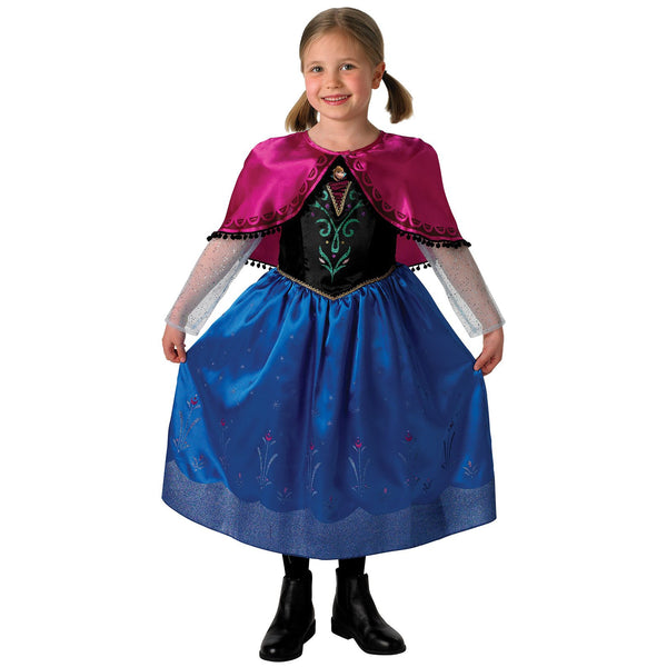 Anna Frozen Deluxe Costume, Child