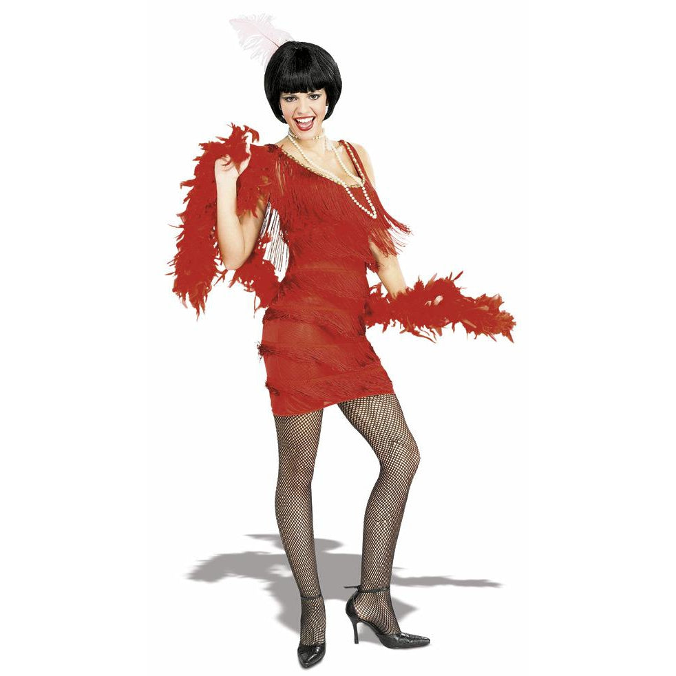 Roarin Red Flapper Costume