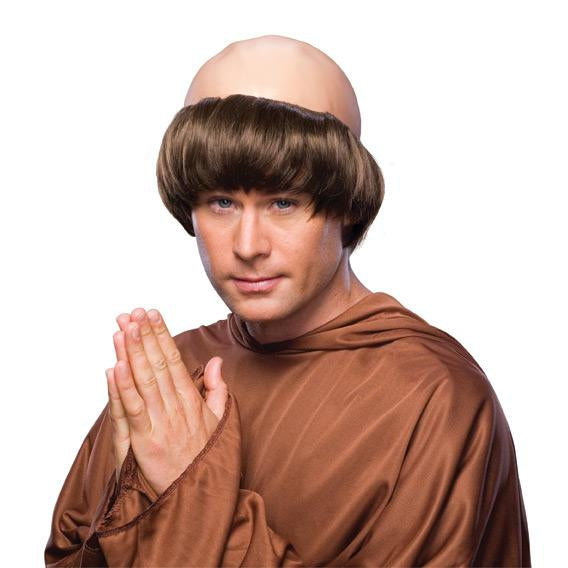 Monk Wig Adult