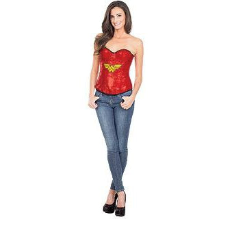 Wonder Woman Sequin Corset