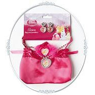 Sleeping Beauty Bag And Jewellery Set