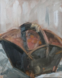 "Brown Basket, 8""x10"""