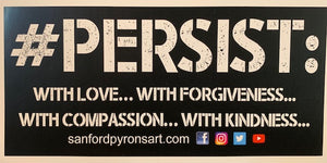 #PERSIST: Bumpersticker