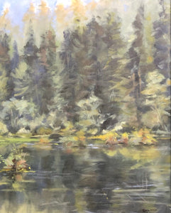 "Catfish Lake, 16""x20"""