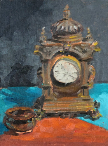 Ornate Clock, 9