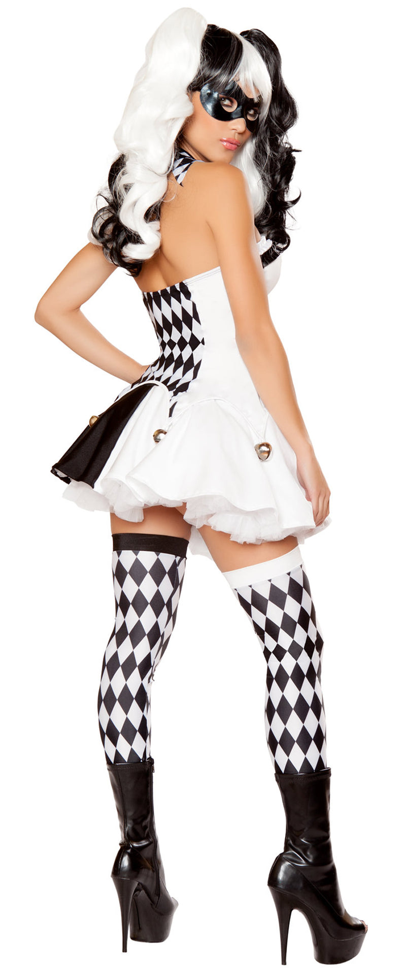 Devious Jester Costume RM-10044 Back