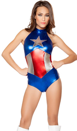 Enhanced American Hero Costume RM-10056 main