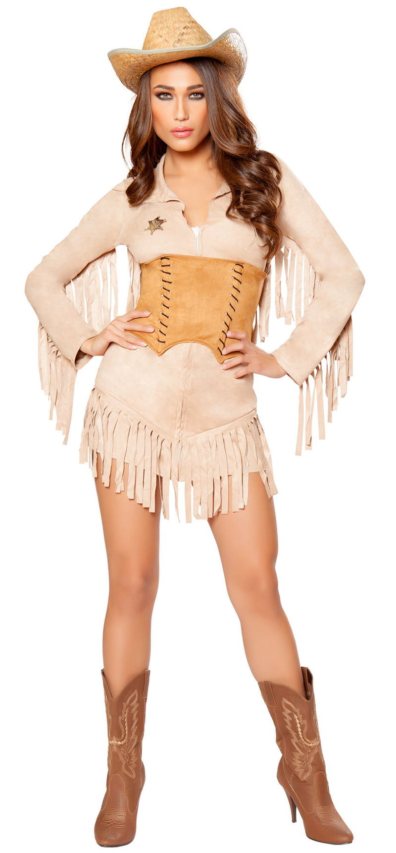 RM-10070 Lady Law Sheriff Costume front