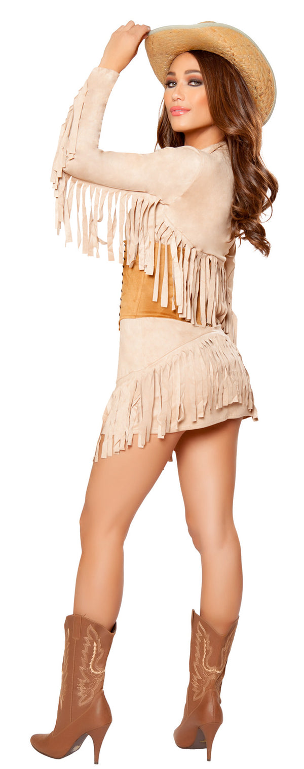 RM-10070 Lady Law Sheriff Costume back