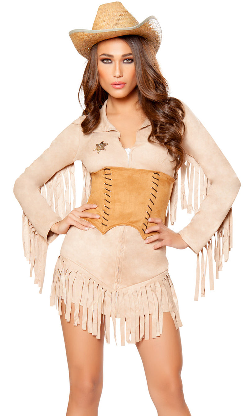 RM-10070 Lady Law Sheriff Costume main