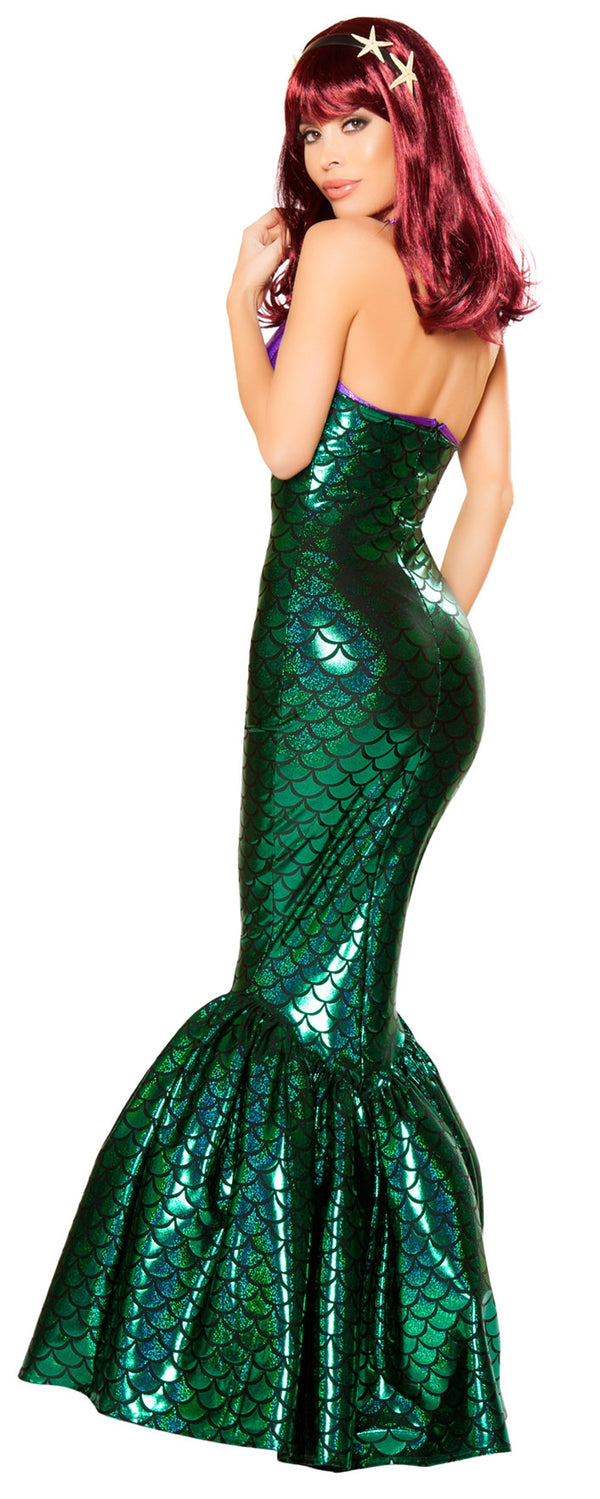RM-10076 Deluxe Mermaid Costume back