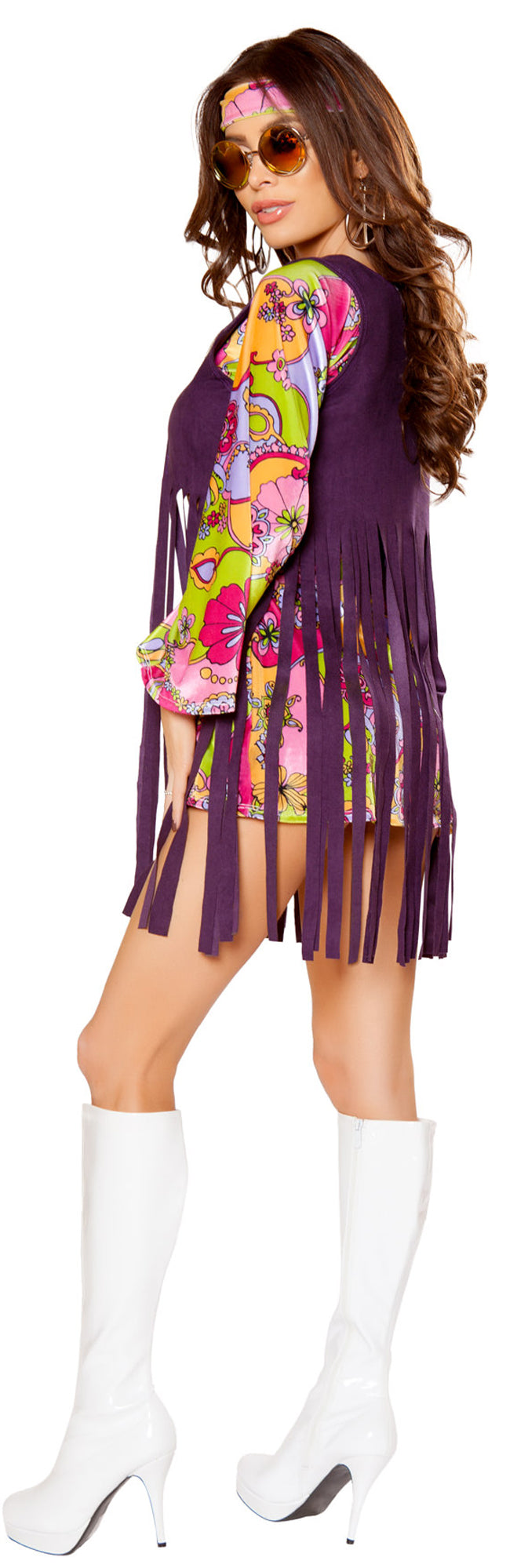 RM-10083 Groovy Hippie Costume Back