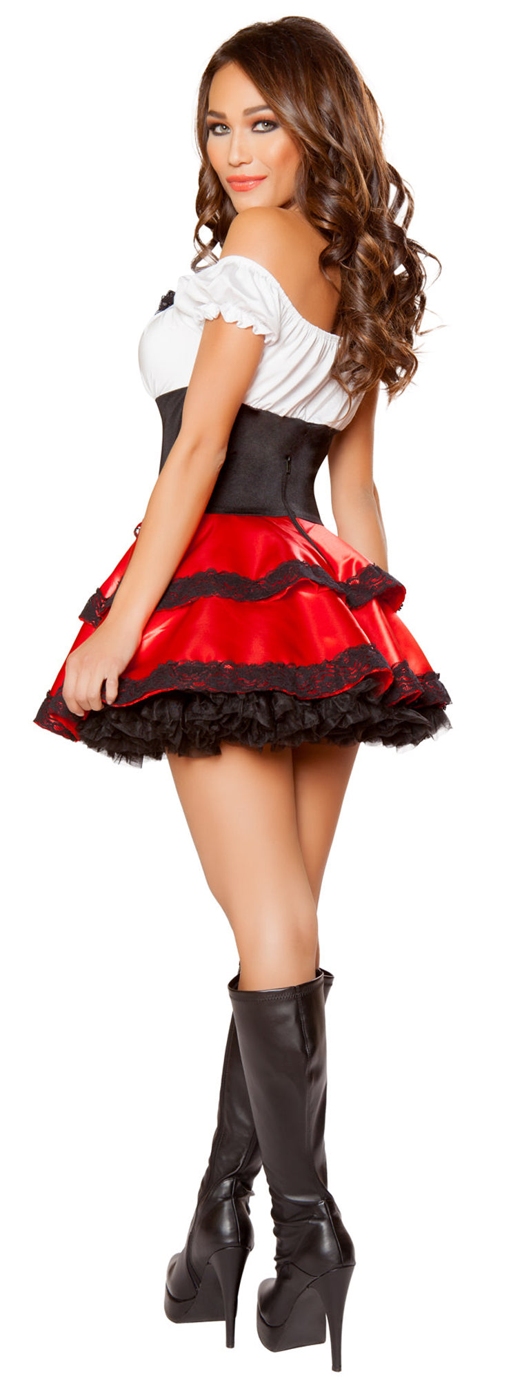 RM-10089 Little Red Rider Costume Back