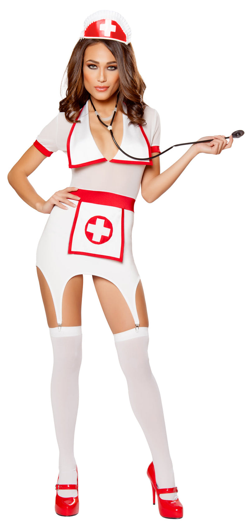 RM-10099 Doctor's Naughty Assistant costume Front