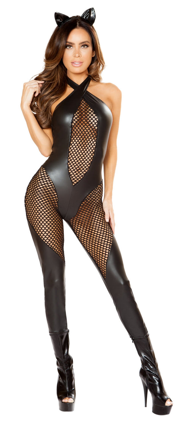 RM-10120 Kitty catsuit front