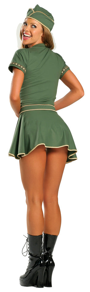 Pin-Up Army Girl Costume RM1357