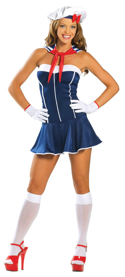 sexy sailor halloween costume