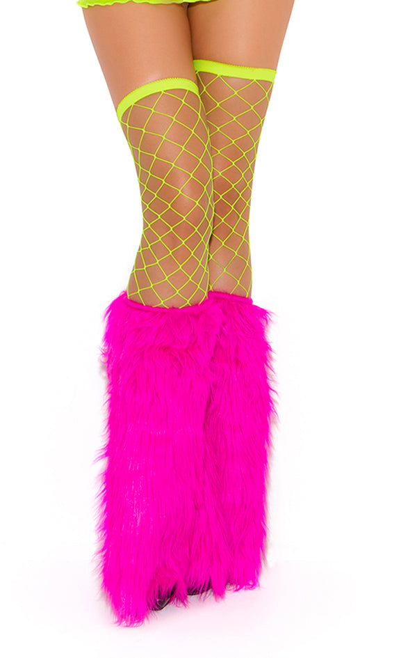 Big Diamond Thigh High Yellow  EM1739