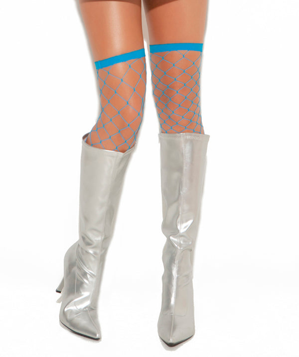 Big Diamond Thigh High Turquoise EM1739