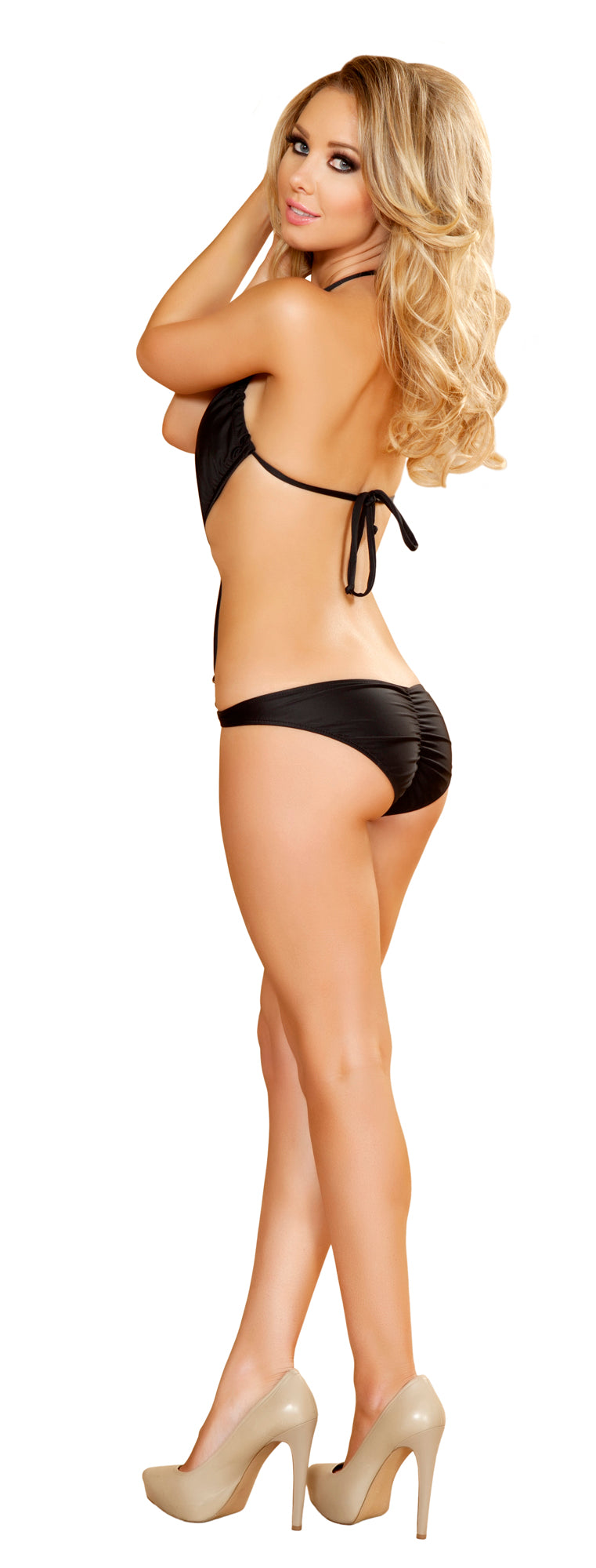 Criss-Cross Monokini Black Back JV2222