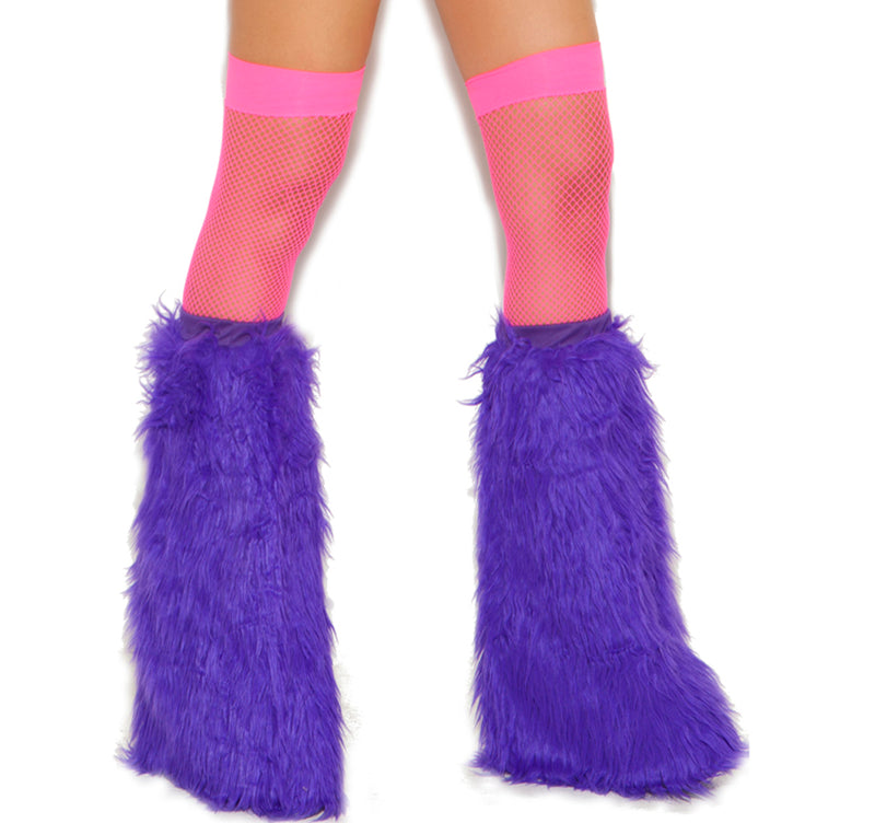 Fishnet Thigh Highs Pink EM1744