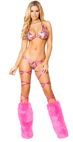 Triple Strap Bikini Set Jewel RM3106