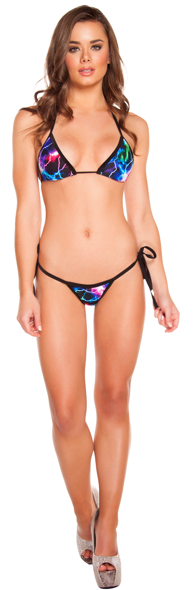 Low Rise Bikini Set RM-3200 Front Electric