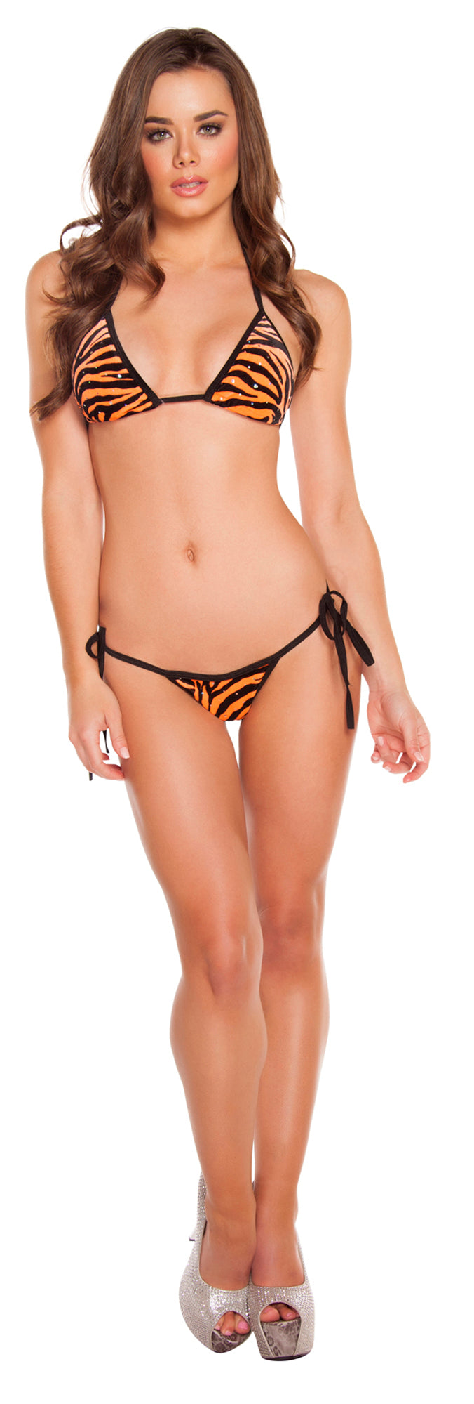 Low Rise Bikini Set RM-3200 Front Tiger