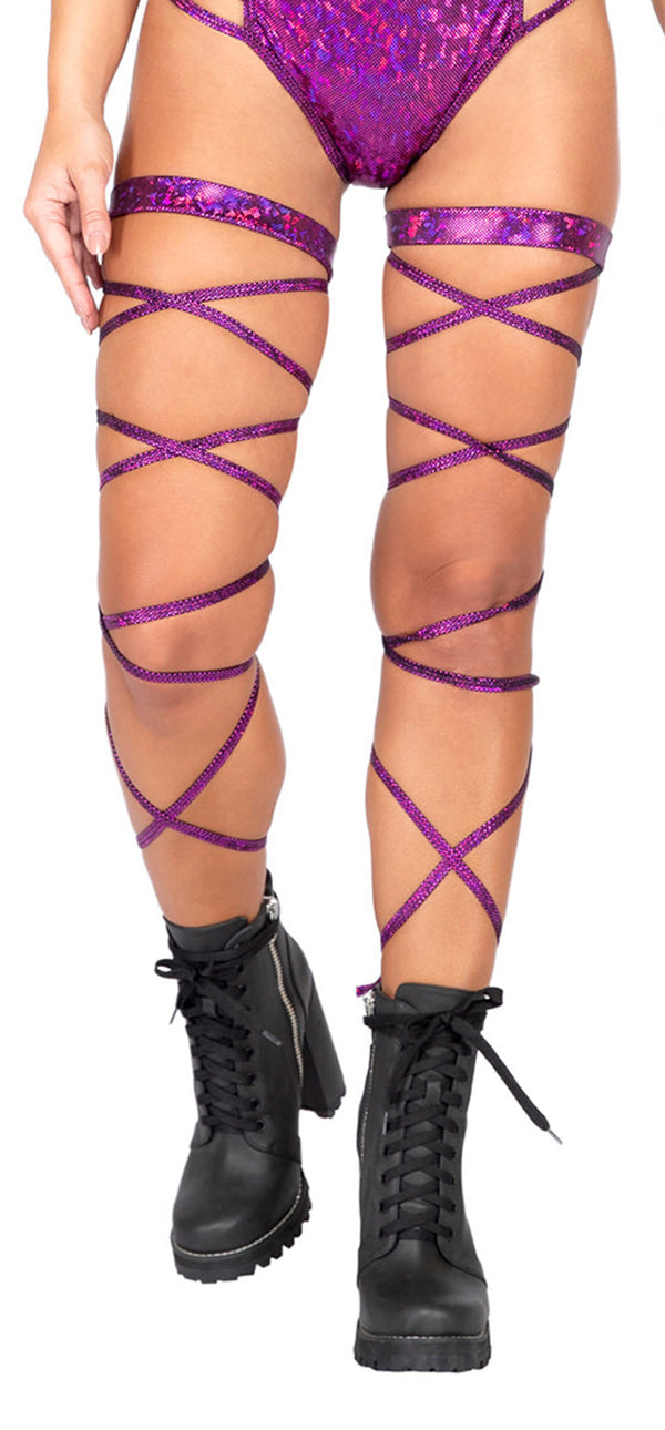 Pair of Gartered Leg Straps