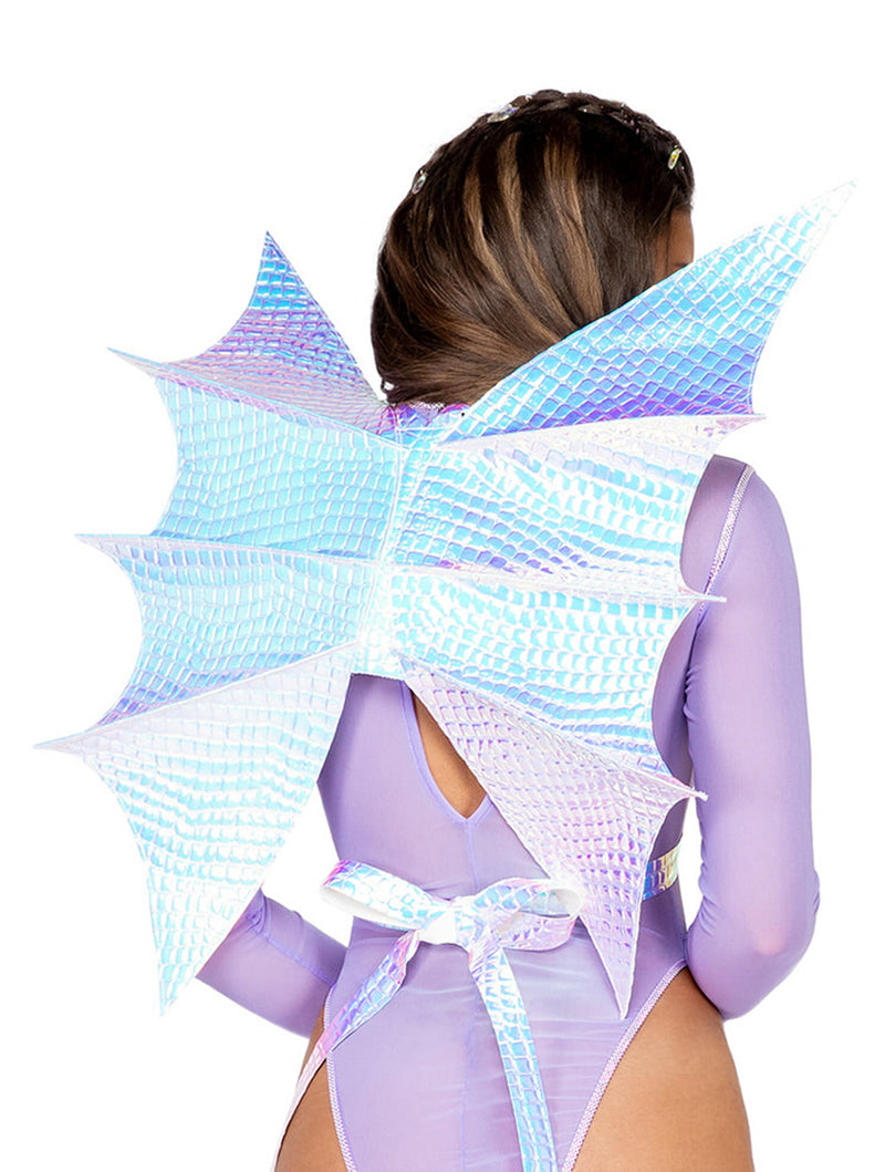 Dragon Metallic Criss Cross Wings