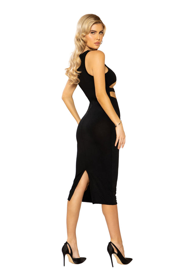 Underboob Cutout Bodycon Dress