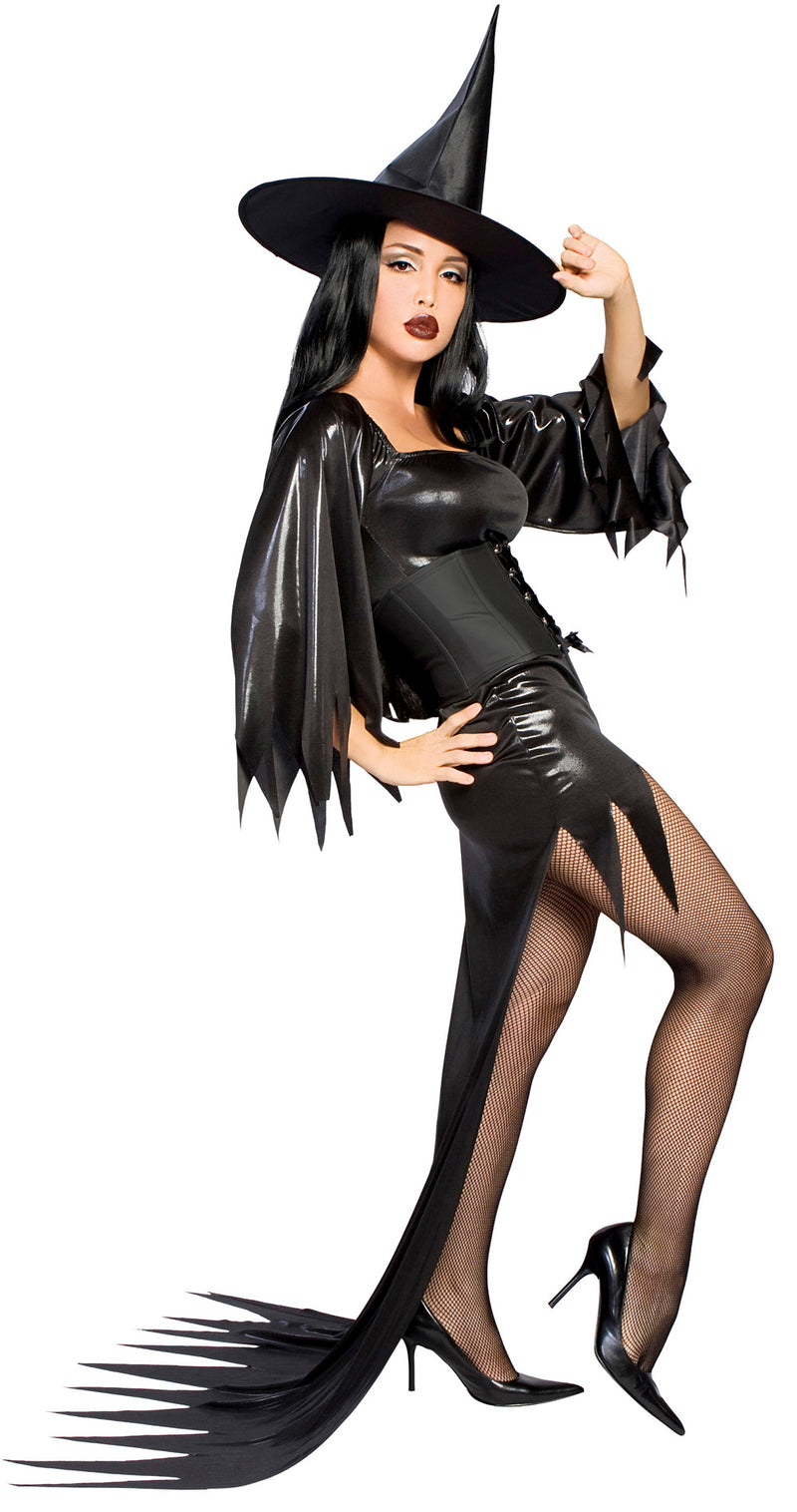 Black Witch Mamma Costume Side RM4068