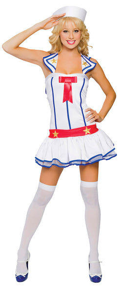 Flirty First Mate Costume Front RM4095